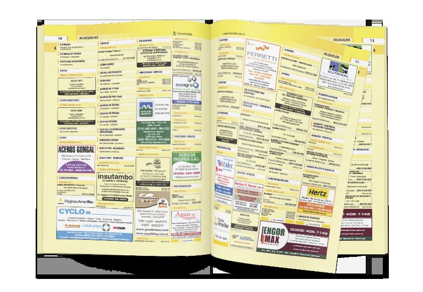 Guías impresas